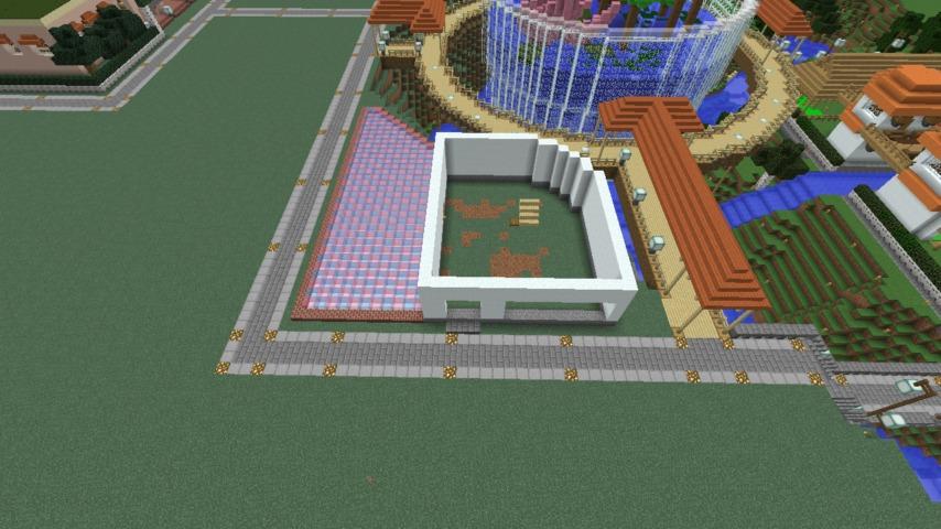 Minecrafterししゃもがマインクラフトで懐かしいお菓子屋をリメイクしてみる6