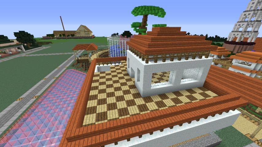 Minecrafterししゃもがマインクラフトで懐かしいお菓子屋をリメイクしてみる9