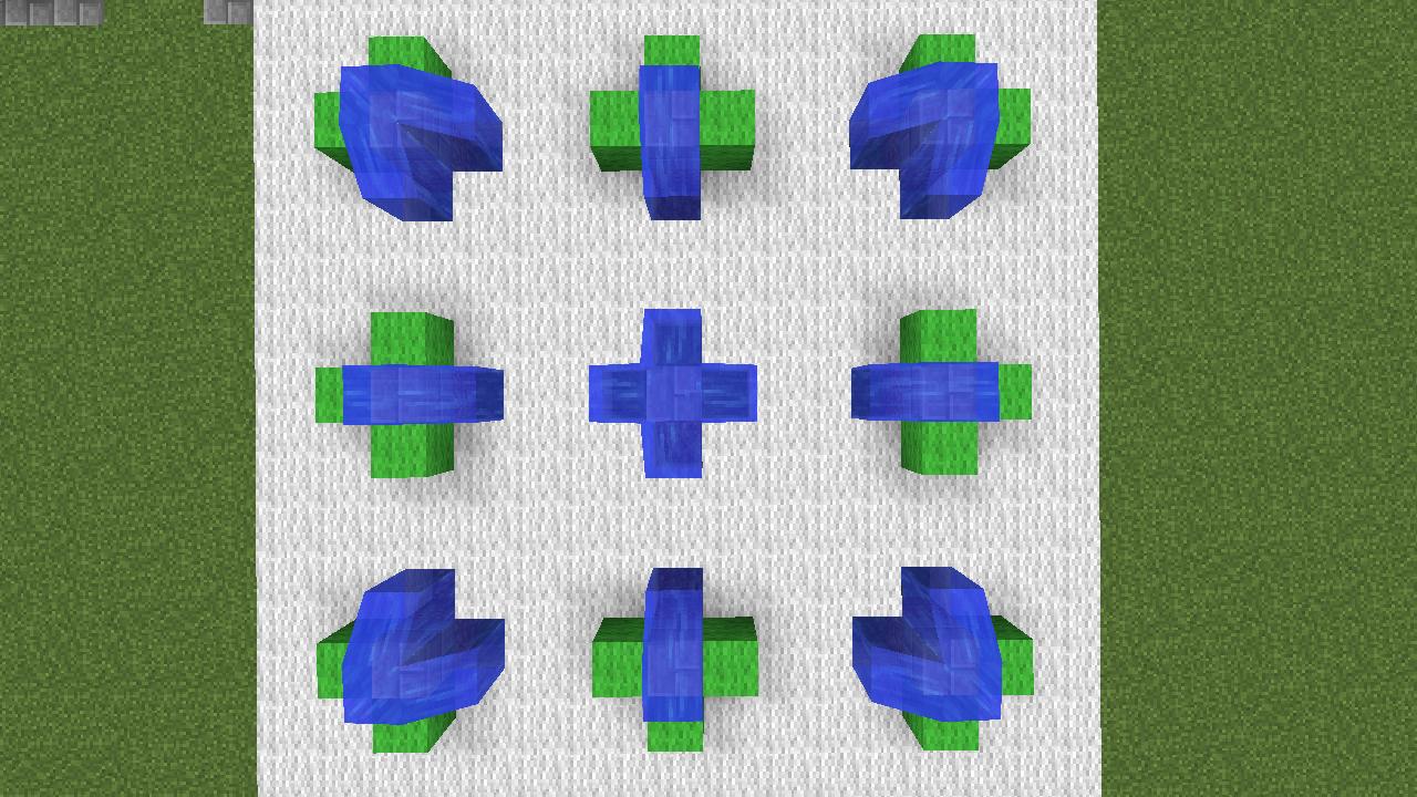Minecrafterししゃもがマインクラフトでぷっこ村にオシャレな噴水を建設して作り方を茶番を演じながら紹介する15