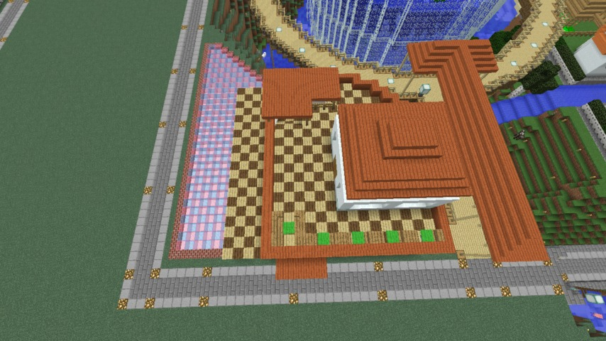 Minecrafterししゃもがマインクラフトで懐かしいお菓子屋をリメイクしてみる10