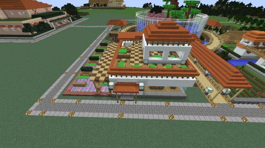 Minecrafterししゃもがマインクラフトで懐かしいお菓子屋をリメイクしてみる13