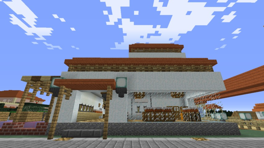 Minecrafterししゃもがマインクラフトで懐かしいお菓子屋をリメイクしてみる14