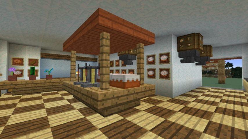 Minecrafterししゃもがマインクラフトで懐かしいお菓子屋をリメイクしてみる18