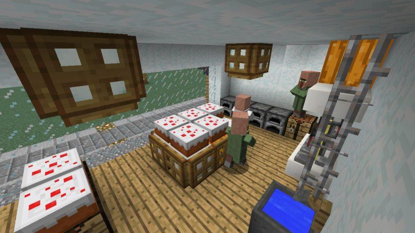 Minecrafterししゃもがマインクラフトで懐かしいお菓子屋をリメイクしてみる19