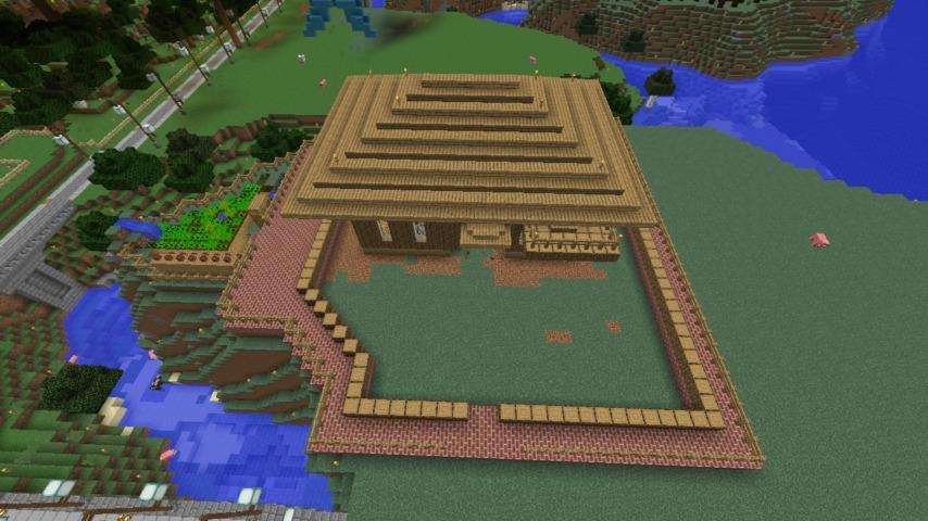 Minecrafterししゃもがマインクラフト懐かしいログハウスをリメイクする3
