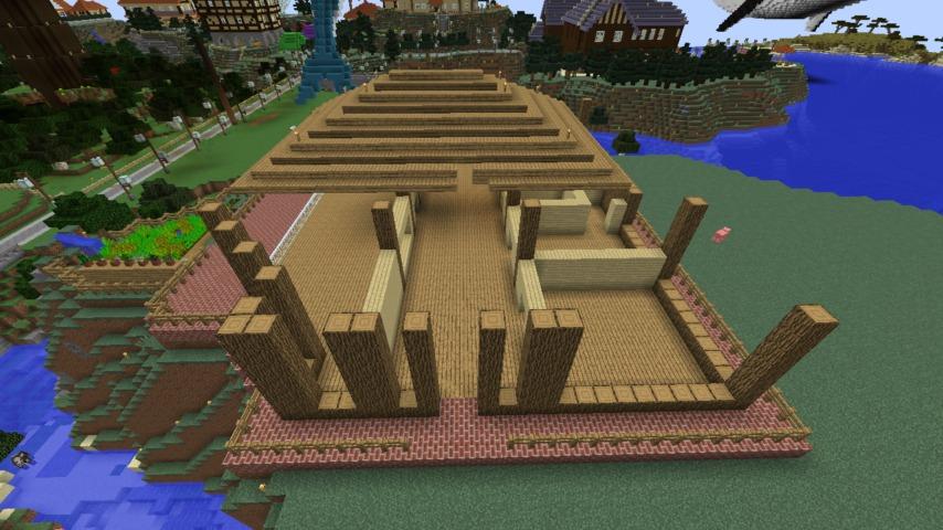 Minecrafterししゃもがマインクラフト懐かしいログハウスをリメイクする4