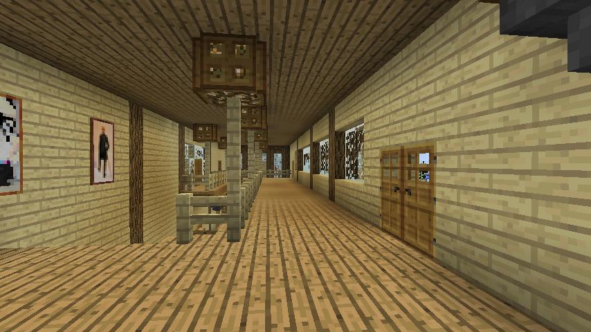 Minecrafterししゃもがマインクラフトでぷっこ村にログハウス風の別荘を建築して紹介する10