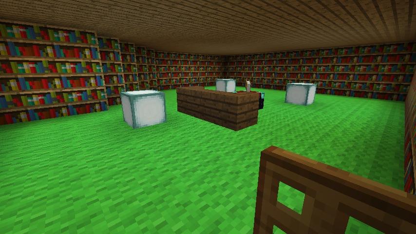 Minecrafterししゃもがマインクラフトでぷっこ村にログハウス風の別荘を建築して紹介する15