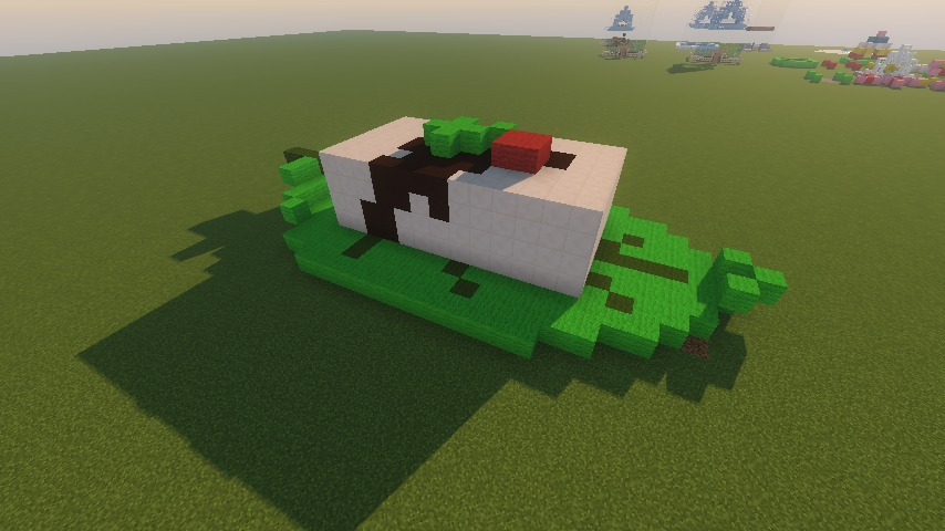 Minecrafterししゃもがマインクラフトでアメイジングな豆腐建築をする。5