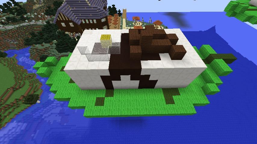 Minecrafterししゃもがマインクラフトでアメイジングな豆腐建築をする。2