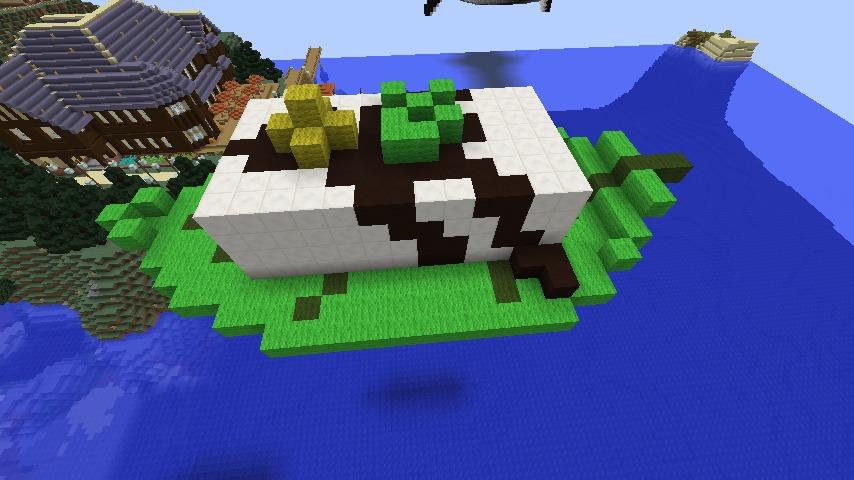 Minecrafterししゃもがマインクラフトでアメイジングな豆腐建築をする。3