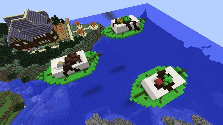 Minecrafterししゃもがマインクラフトでアメイジングな豆腐建築をする。1