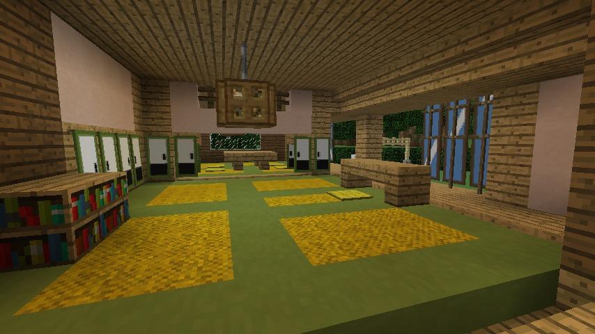 Minecrafterししゃもがマインクラフトでぷっこ村にサツキとメイの家を再現する13
