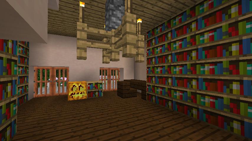 Minecrafterししゃもがマインクラフトでぷっこ村にサツキとメイの家を再現する12
