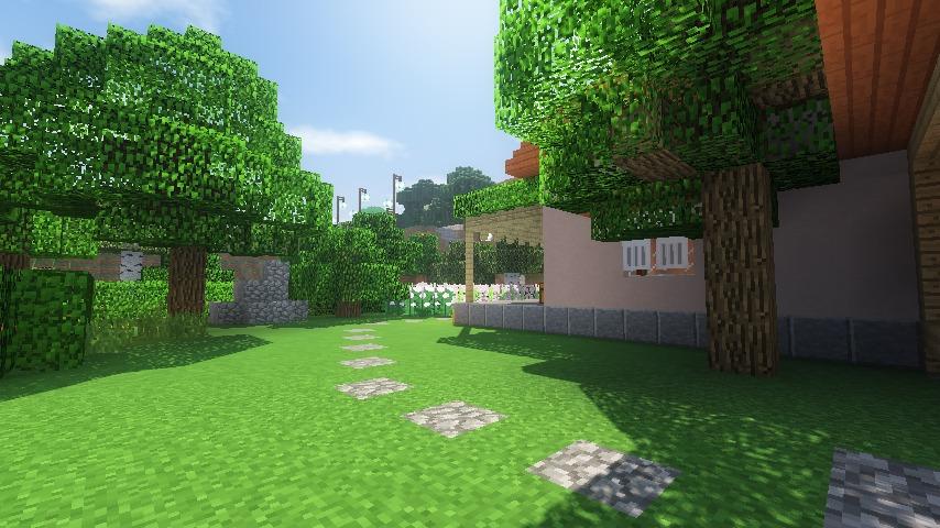 Minecrafterししゃもがマインクラフトでぷっこ村にサツキとメイの家を再現する17