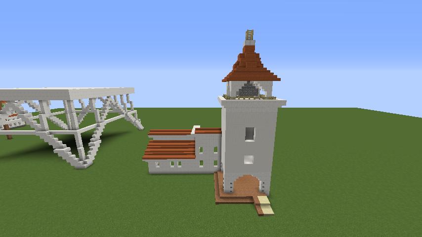 Minecrafterししゃもがマインクラフトでぷっこ村に綾ワイナリーをモデルにした金曜日のオレ工場を建設する2