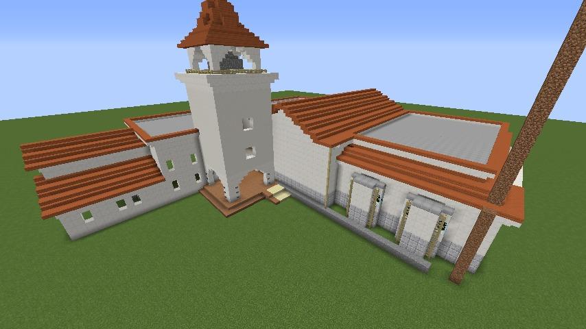 Minecrafterししゃもがマインクラフトでぷっこ村に綾ワイナリーをモデルにした金曜日のオレ工場を建設する5