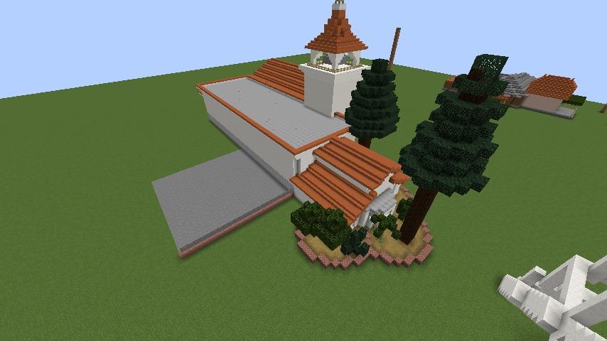 Minecrafterししゃもがマインクラフトでぷっこ村に綾ワイナリーをモデルにした金曜日のオレ工場を建設する7