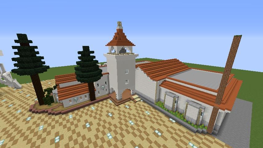Minecrafterししゃもがマインクラフトでぷっこ村に綾ワイナリーをモデルにした金曜日のオレ工場を建設する9