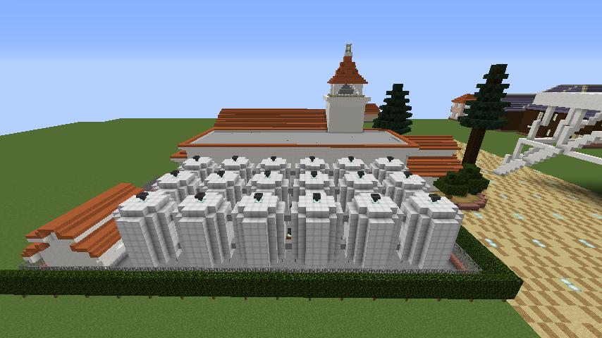 Minecrafterししゃもがマインクラフトでぷっこ村に綾ワイナリーをモデルにした金曜日のオレ工場を建設する10