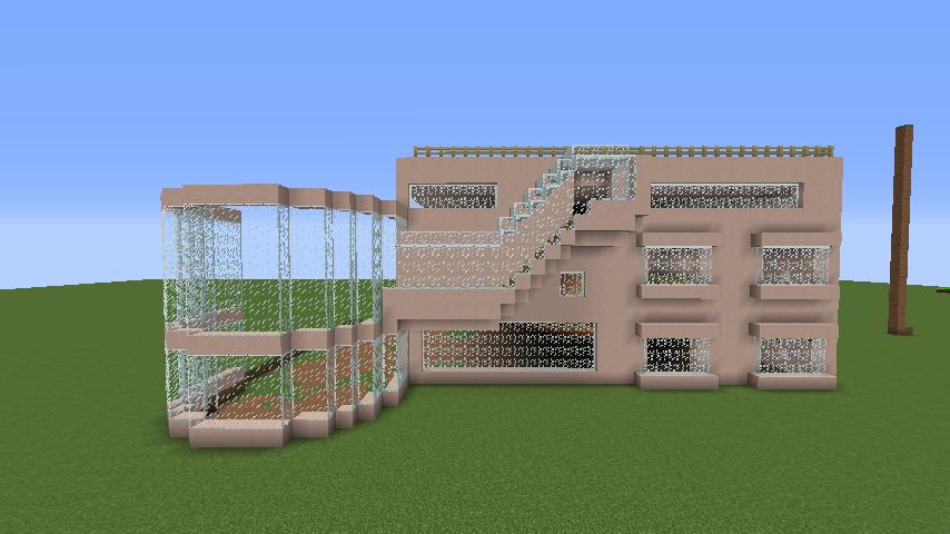 Minecrafterししゃもがマインクラフトでぷっこ村にスタジオジブリを再現する2