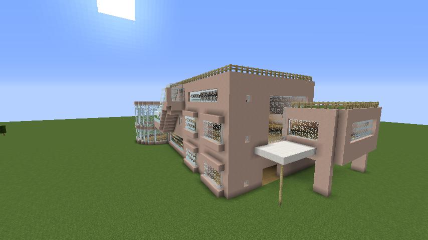 Minecrafterししゃもがマインクラフトでぷっこ村にスタジオジブリを再現する3