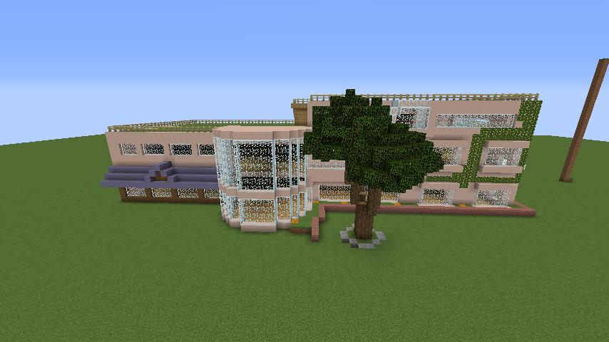 Minecrafterししゃもがマインクラフトでぷっこ村にスタジオジブリを再現する4