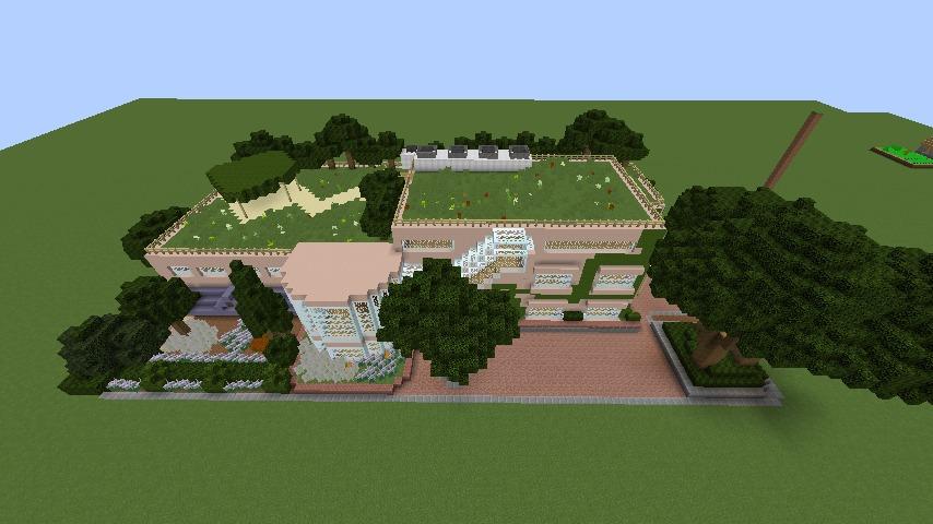 Minecrafterししゃもがマインクラフトでぷっこ村にスタジオジブリを再現する9