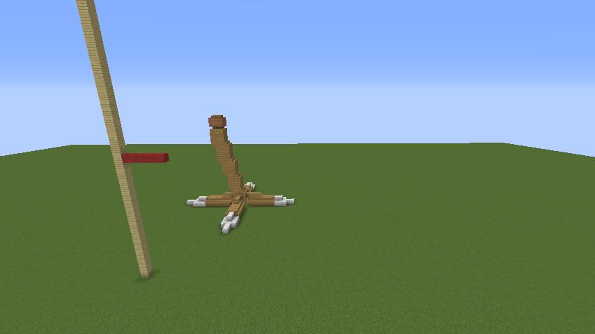 Minecrafterししゃもがマインクラフトでジブリのハウルの動く城を作成する前編2