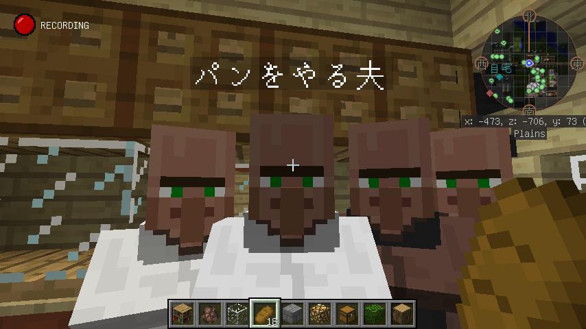 Minecrafterししゃもがマインクラフトでぷっこ村の居住地区を紹介する3