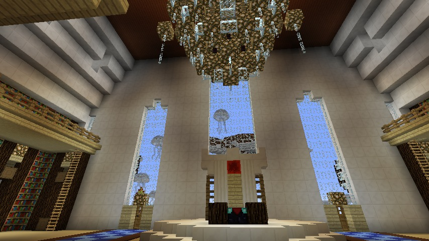 Minecrafterししゃもがマインクラフトでぷっこ村に城を建設して召喚する10