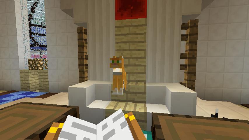 Minecrafterししゃもがマインクラフトでぷっこ村に城を建設して召喚する12