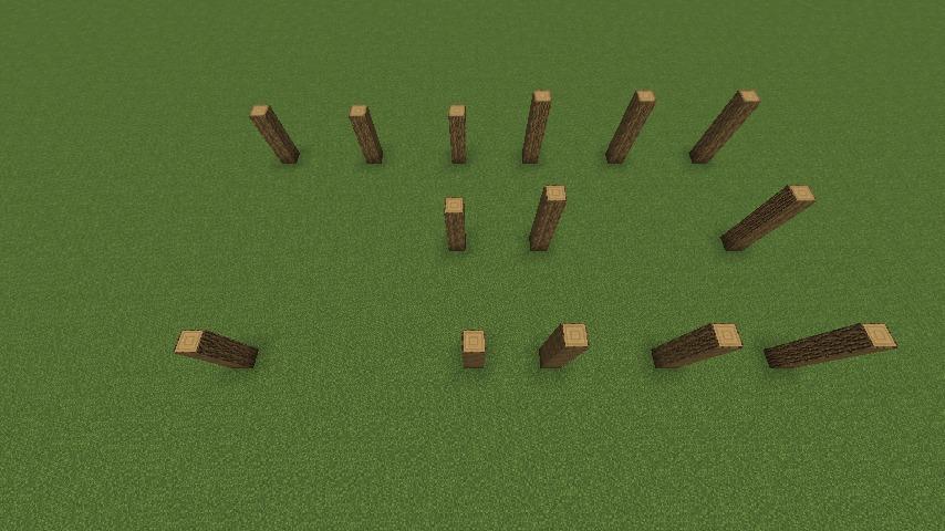 Minecrafterししゃもがマインクラフトでぷっこ村に移住者用のログハウスを建設する1