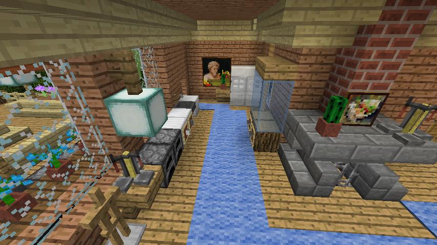 Minecrafterししゃもがマインクラフトでぷっこ村に移住者用のログハウスを建設する17