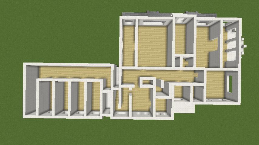 Minecrafterししゃもがマインクラフトでぷっこ村にイギリス館を建てて紹介する2