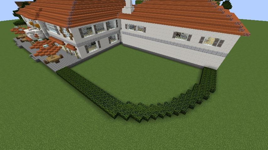 Minecrafterししゃもがマインクラフトでぷっこ村にイギリス館を建てて紹介する7