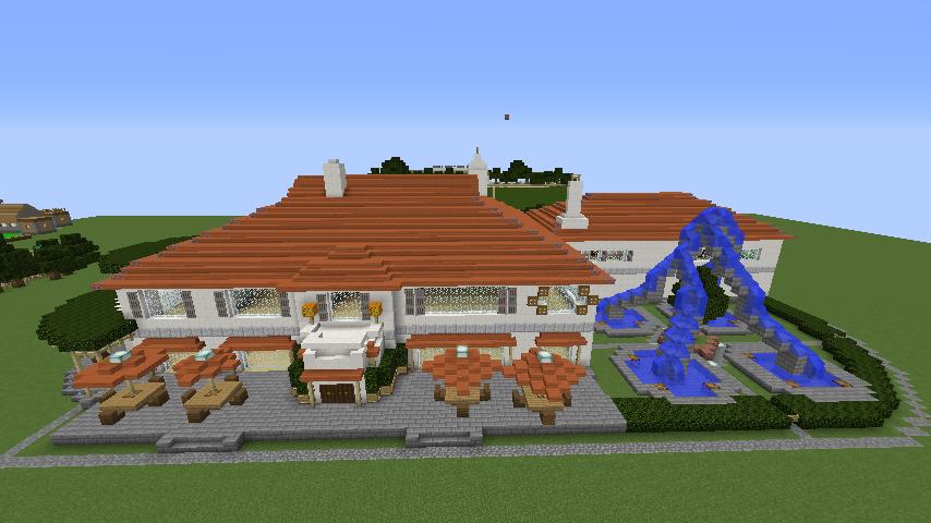 Minecrafterししゃもがマインクラフトでぷっこ村にイギリス館を建てて紹介する8