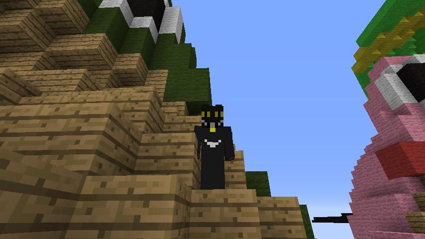 ある日のぷっこ村Minecrafterししゃもがマインクラフトでぷっこ村にカエルの置物を作る5