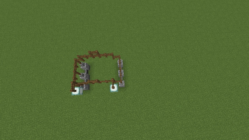 Minecrafterししゃもがマインクラフトでぷっこ村にデザイナーズログハウスを建てる1