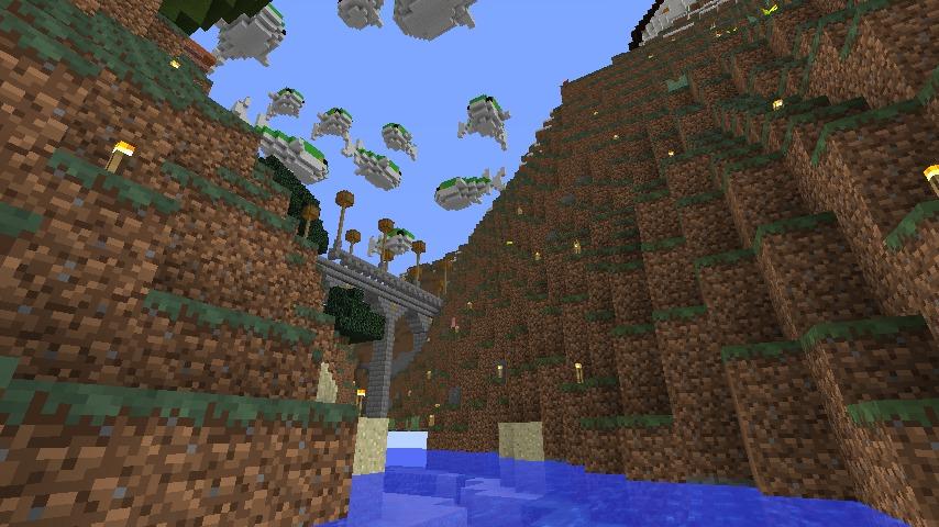 Minecrafterししゃもがマインクラフトでぷっこ村の水源を訪ねるツアーを開催する4