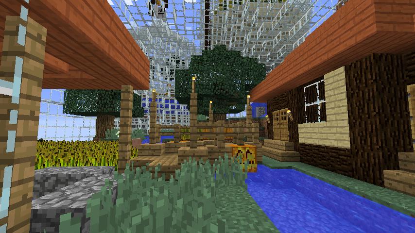 Minecrafterししゃもがマインクラフトでぷっこ村の水源を訪ねるツアーを開催する10