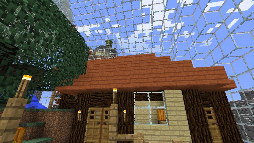 Minecrafterししゃもがマインクラフトでぷっこ村の水源を訪ねるツアーを開催する11