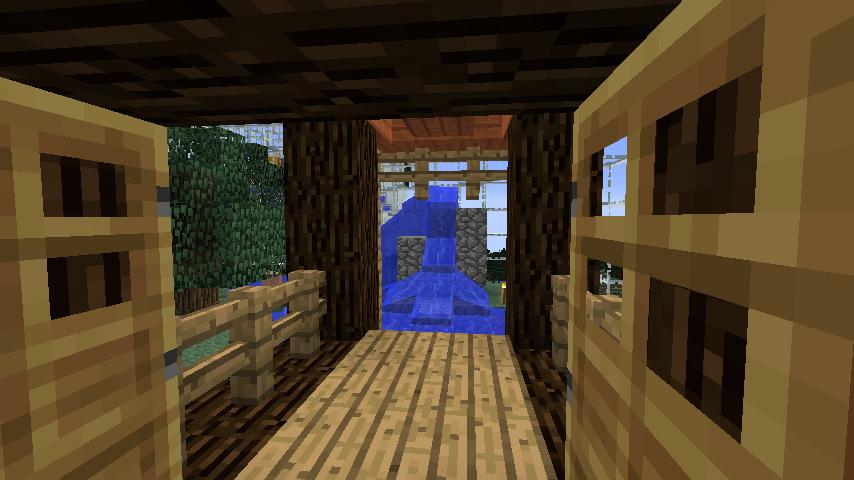 Minecrafterししゃもがマインクラフトでぷっこ村の水源を訪ねるツアーを開催する13