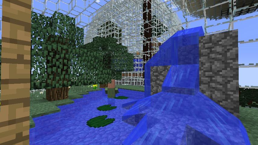 Minecrafterししゃもがマインクラフトでぷっこ村の水源を訪ねるツアーを開催する14