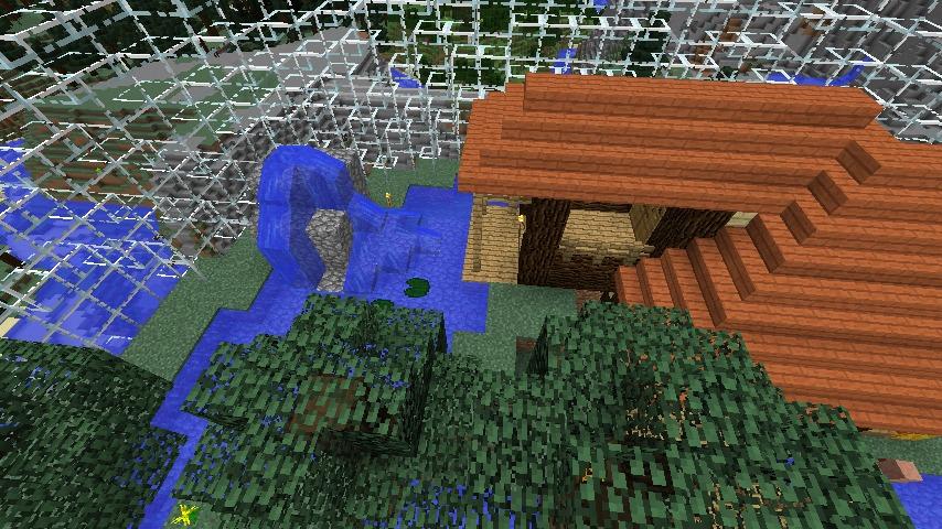 Minecrafterししゃもがマインクラフトでぷっこ村の水源を訪ねるツアーを開催する15