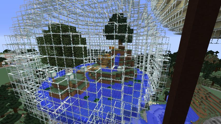 Minecrafterししゃもがマインクラフトでぷっこ村の水源を訪ねるツアーを開催する16