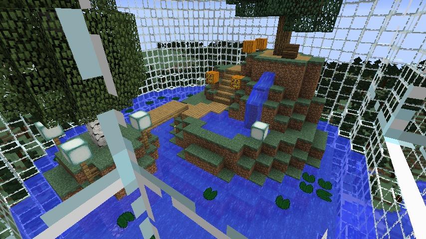 Minecrafterししゃもがマインクラフトでぷっこ村の水源を訪ねるツアーを開催する17