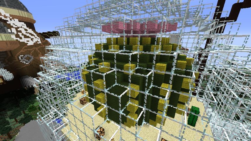 Minecrafterししゃもがマインクラフトでぷっこ村の水源を訪ねるツアーを開催する18