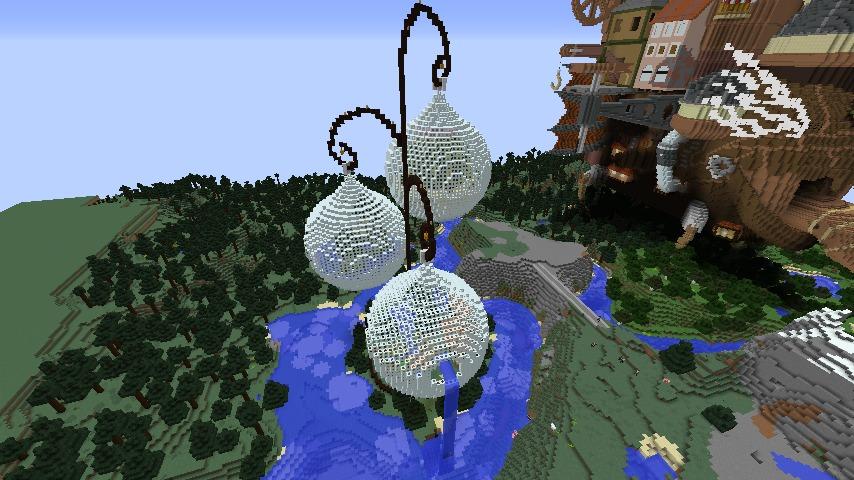 Minecrafterししゃもがマインクラフトでぷっこ村の水源を訪ねるツアーを開催する120