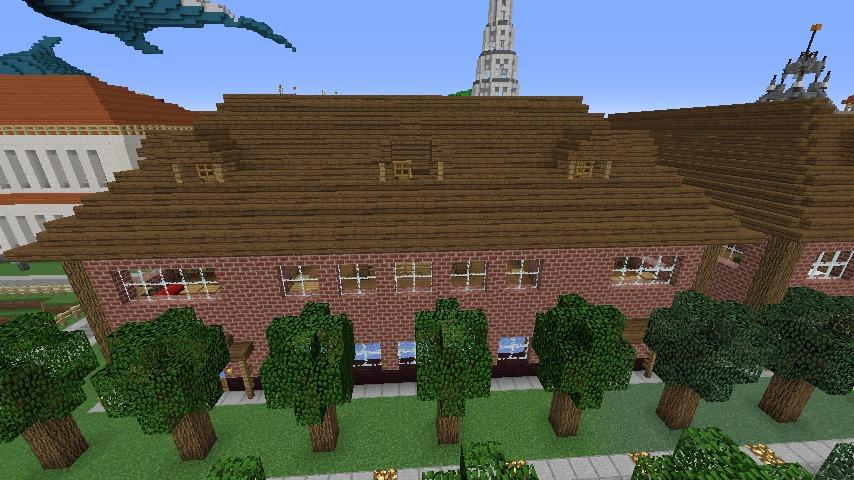 Minecrafterししゃもがマインクラフトでレンガのアパートをリフォームする1